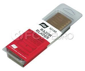 100 Pack of Razor Blades - Lisle 52150