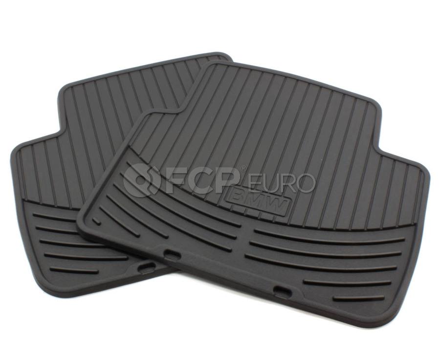 BMW Floor Mats >> Bmw Rubber Floor Mats Black Genuine Bmw 82550136373