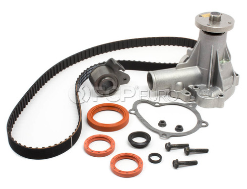 Volvo Timing Belt and Water Pump Kit (240 244 245 740 940) TBKIT032WP-OEM
