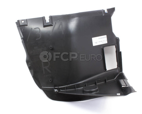 BMW Lower Fender Liner Right (E46) - Genuine BMW 51718193812