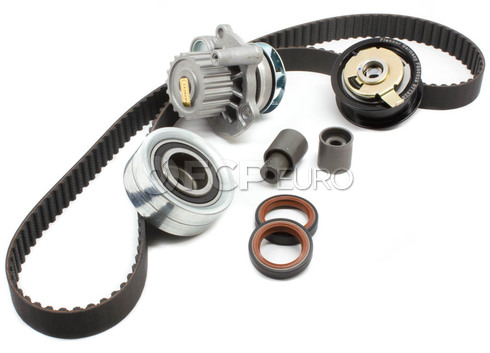 VW Timing Belt Kit with Water Pump 8-Piece TDI (Beetle Golf Jetta) - Geba TDIKIT