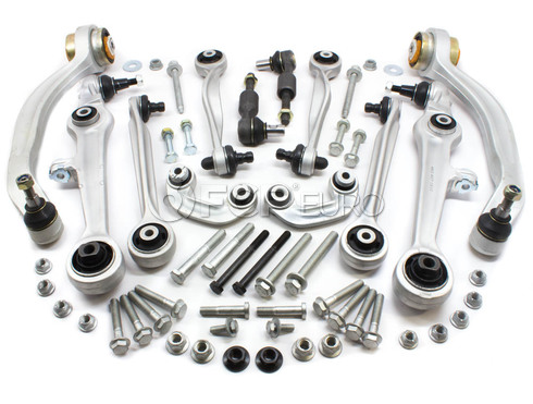 Audi VW Control Arm Kit - Delphi KIT-539340