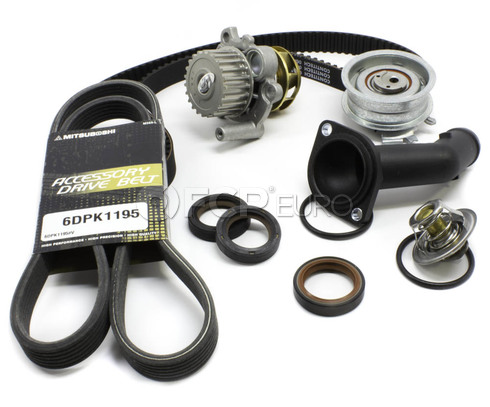 VW Timing Belt Kit with Water Pump 2.0L (Golf Jetta Beetle) - TBKIT296-B