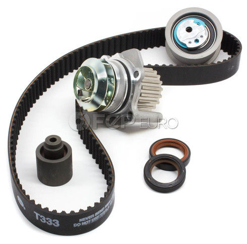 VW Timing Belt Kit with Water Pump (TDI BEW) - Contitech / Hepu BEWTBKIT