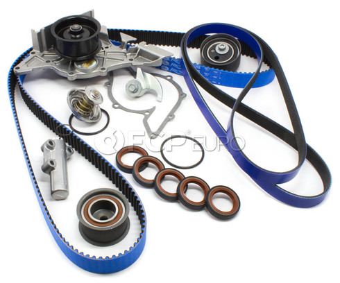 Audi VW Timing Belt Kit with Water Pump (A4 A6 Passat) - Gates/OEM AUDITBKIT9-RB