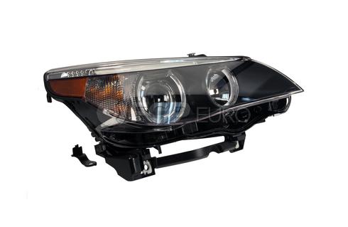BMW Bi-Xenon Headlight Assembly Right - Hella 63127166120