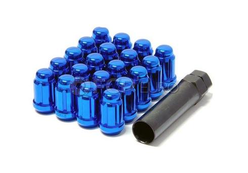 Muteki Blue Closed End Lug Nut Set (12x1.25) - 41885U