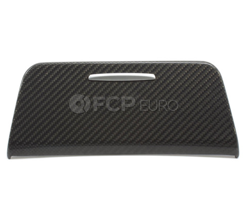 BMW Carbon Fiber Ash Tray Cover - Genuine BMW 51160442909