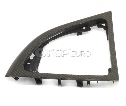 BMW Carbon Fiber Shifter Trim - Genuine BMW 51160442913