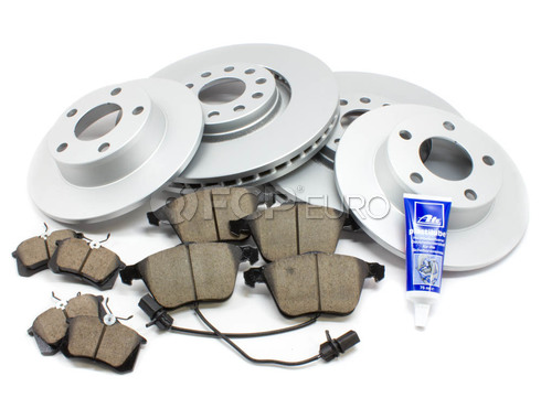 Audi Brake Kit - Meyle/Akebono 127131