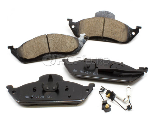 Mercedes Brake Pad Set Front (ML) - Akebono 163420122041