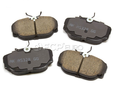 BMW Brake Pad Set (318i 318is 325) - Akebono EUR493
