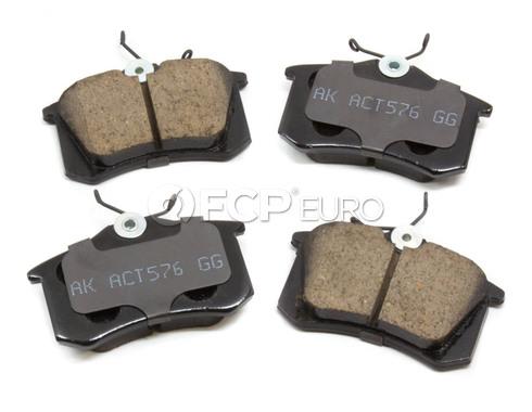 Audi VW Brake Pad Set - Akebono 1H0698451F