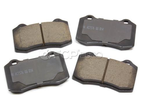 Volvo Brake Pad Set Rear (S60R V70R) - Akebono 30683858