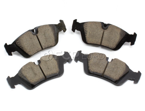 BMW Brake Pad Set - Akebono EUR781