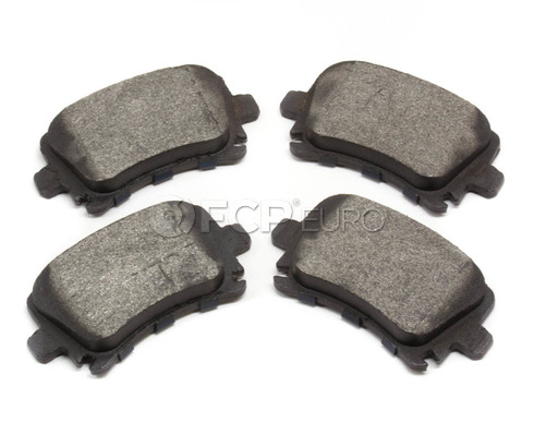 Audi VW Brake Pad Set - Bosch 1K0698451H