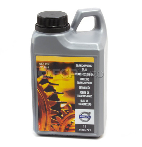 Volvo Manual Transmission Fluid 1 Liter (S40 S60 V50 V70)  - Genuine Volvo 31280771
