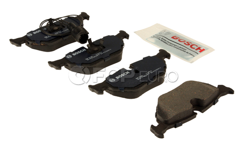 BMW Brake Pad Set (525i 530i 535i 540i) - Bosch QuietCast BP396
