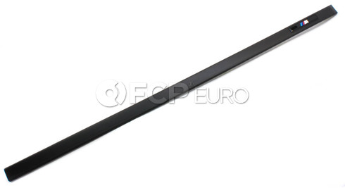 BMW M Front Door Moulding Right - Genuine BMW 51132695682
