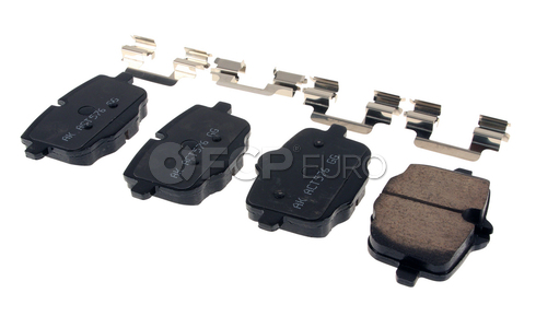 BMW Brake Pad Set (535i 650i M5) - Akebono EUR1469