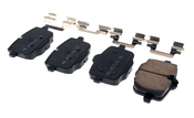 BMW Brake Pad Set - Akebono EUR1469