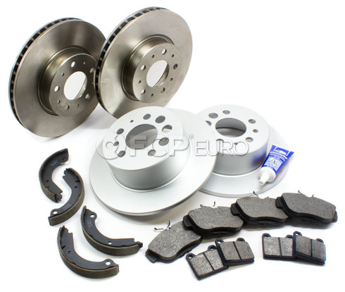 Volvo Brake Kit (740 940 960) - Bosch QuietCast VBBRAKEKIT5