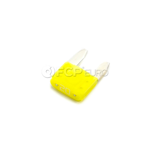 BMW Fuse Mini Yellow - Genuine BMW 61136942071