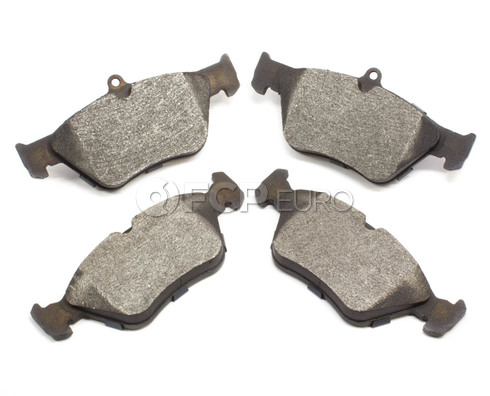 Saab Brake Pad Set (900) - Bosch BP644