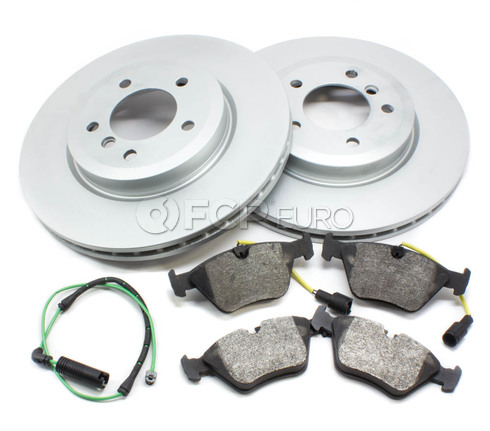 BMW Brake Kit Front (E46 330i 330ci 330xi) - Bosch QuietCast 330BK1
