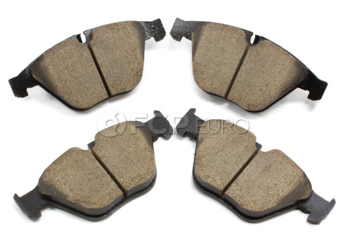 BMW Brake Pad Set - Akebono EUR918A