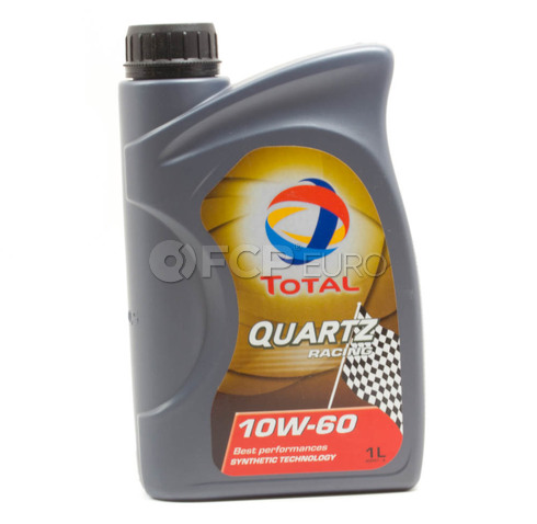 Total 10W60 Quartz Racing Synthetic Engine Oil (1 Liter) - 182162