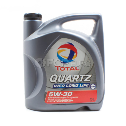 5W30 Quartz INEO Long Life Synthetic Engine Oil (5 Quarts) - Total  181712