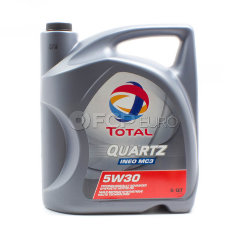 5W30 Quartz INEO MC3 Synthetic Engine Oil (5 Quart) - Total  184953
