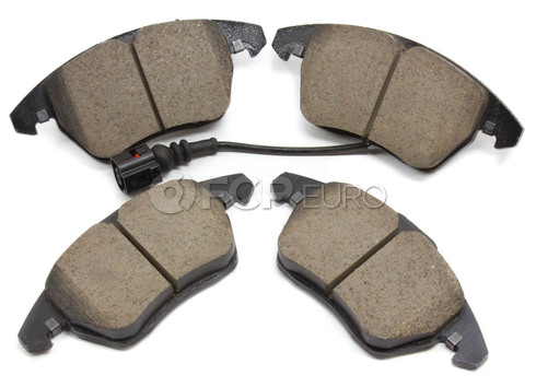 Audi VW Brake Pad Set - Akebono 1K0698151E