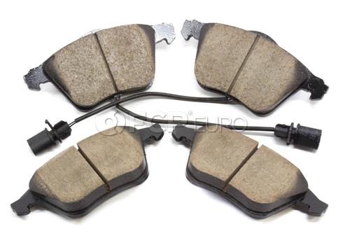 Audi Brake Pads Set Front (A4 A6 S6 Allroad) - Akebono 4B0698151AD