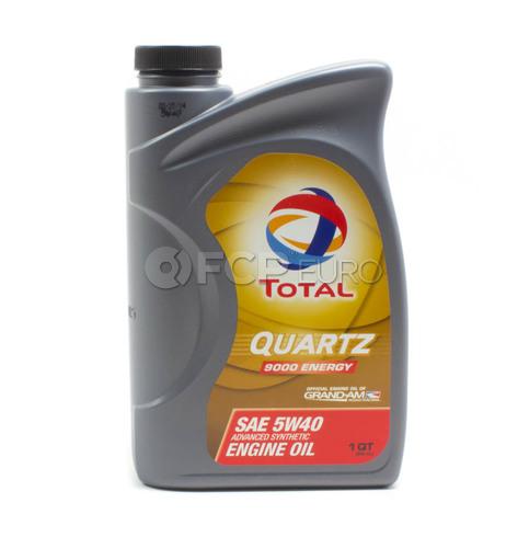 5W40 Quartz 9000 Synthetic Engine Oil (1 Quart) - Total  185703