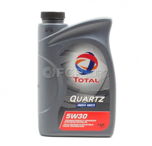 5W30 Quartz INEO MC3 Synthetic Engine Oil (1 Quart) - Total  182950