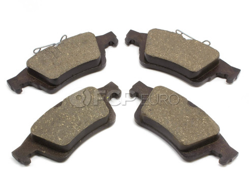 Volvo Brake Pad Set Rear (C30 S40 V50 C70) - Genuine Volvo 30742031