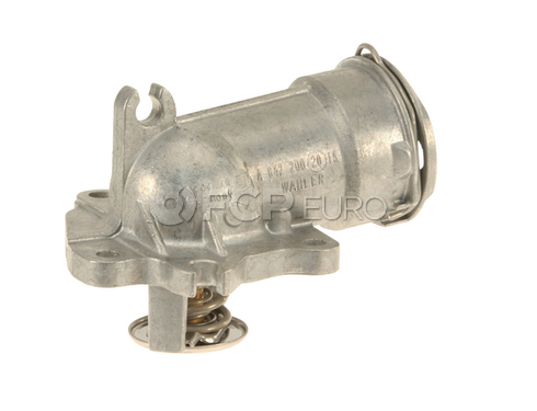 Mercedes Thermostat Assembly - Borg Warner / Wahler 6422002015
