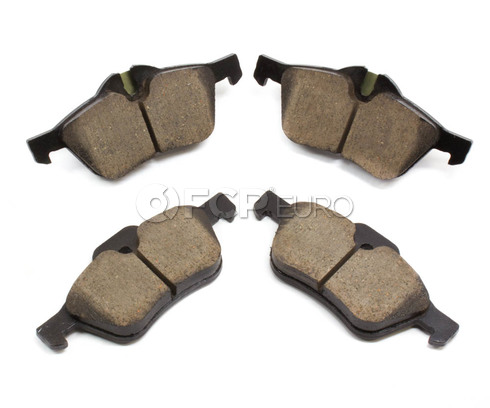 Mini Cooper Brake Pads Set Front - Akebono EUR939