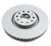 Audi VW Brake Disc - Zimmermann 8E0615301AD