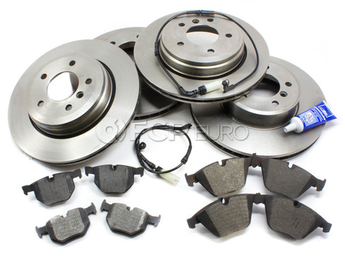 BMW Brake Kit Front and Rear (E60) - Bosch QuietCast 34116864906KTFR5