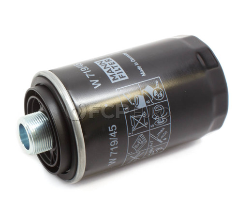 Audi VW Engine Oil Filter (A3 TT Passat Jetta) - Mann 06J115403Q