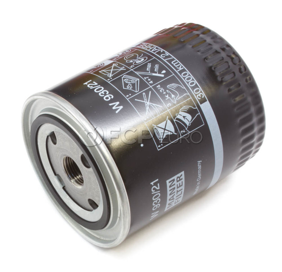 Audi VW Oil Filter - Mann 078115561J