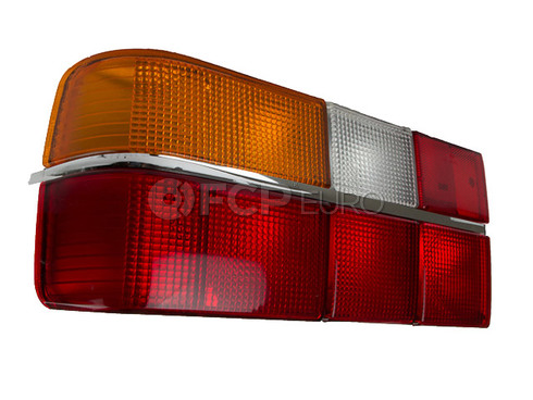 Volvo Tail Light Assembly Left (740 760 Sedans) Chrome Trim 3518922