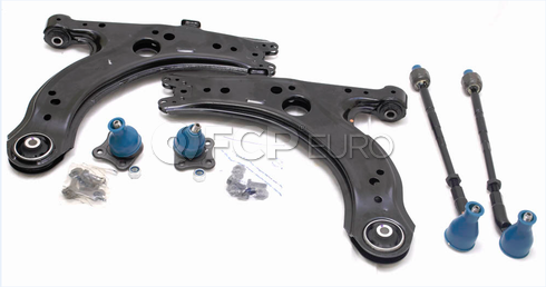 VW Control Arm Kit 6-Piece (Beetle Golf Jetta) - Meyle VWCAKIT1