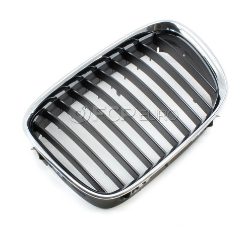 BMW Kidney Grille Left - Genuine BMW 51138159315