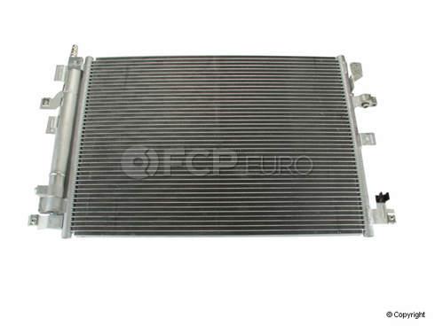Volvo Air Conditioning Condenser w/ Receiver Drier (XC90) - TYC 30781280