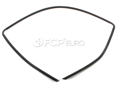 BMW Rear Windshield Molding Trim Seal Upper - Genuine BMW 51318196166