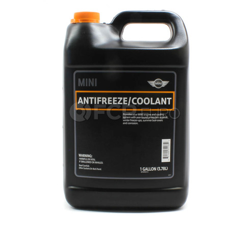 Mini Cooper Coolant/Antifreeze (1 Gallon) - Genuine BMW 82140031133